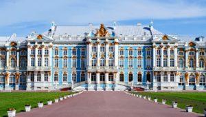 3.1. Пушкин (Царское село): Екатерининский дворец, Янтарная комната, парк.