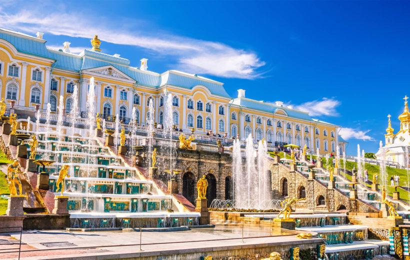 2. Петергоф (Большой дворец + Малый дворец +парк)