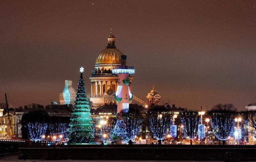 Экскурсия детям: Новогодняя сказка Петербурга