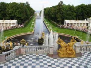 Петергоф. Парк и фонтаны.
